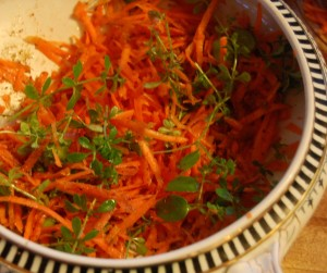 cleaver carrott rose el hanout